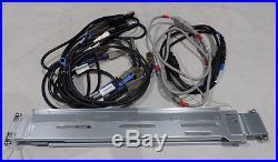 HP P2000 10600gb Hdd's Fclse-0801 A9843b Dual Controller Storage Array