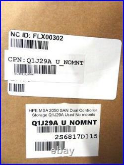 HP Q1j29a Msa 2050 Sas Dual Controller Sff Storage Array