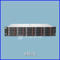 HP StorageWorks D2700 Storage Array 12 x 1TB 6Gb/s SATA / 3 Year Warranty