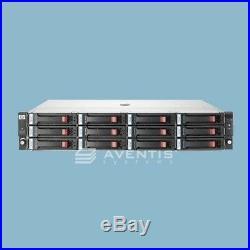 HP StorageWorks MSA60 Storage Array 12 x 3TB SAS 36TB / 3 Year Warranty