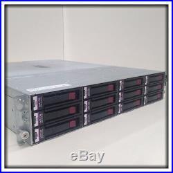 HP StorageWorks MSA60 Storage Array with 12x 600GB 15K SAS Hard Drives