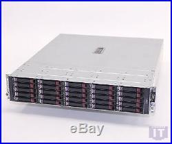 HP StorageWorks MSA70 SAN 25x 2.5 146GB SAS HDD Storage Array 418800-B21 REFURB
