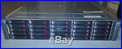 HP StorageWorks MSA70 SAN 25x 2.5 Storage Array 418800-B21 with 146GB SAS HDD