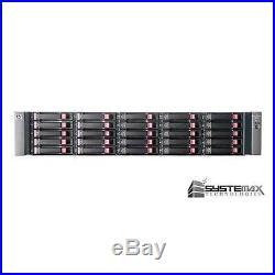 HP StorageWorks MSA70 Storage Array with 25x 73GB 15K 6G 2.5 SAS HDD 418800-B21
