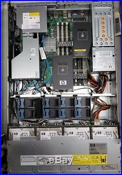 HP StorageWorks P4500 G2 Storage Array with 12x 600GB 6G 15K SAS HDD 2x 750W PSU