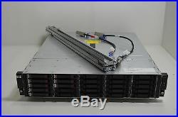 HP Storageworks M6625 AJ840A 25 Bay Storage Array with 25x 450GB SAS Drives