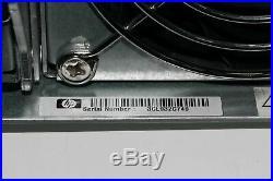 HP Storageworks Msa 2012sa Aj753a 12bay 2u 3.5 Lff Sas Dual Controllers Aj754a