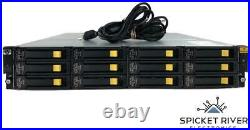 HP StoreOnce Storage Array with 12x 4TB 7.2K SAS HDDs 2x AJ940-04402 Controllers