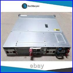 HPE D3700 ENCLOSURE 25 x SFF DRIVE BAYS 2 x CONTROLLER 2 x PSU QW967A