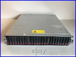 HPE HP MSA2040 MSA 2040 SAN Storage Array 15x 800GB SAS SSD 2x C8R09A Controller