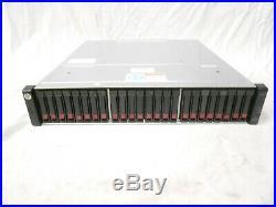HPE HP MSA2040 MSA 2040 SAN Storage Array 24x 600GB 10K 2x C8S53A SAS Controller
