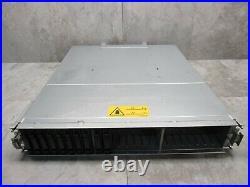 HPE P2000 G3 SAS MSA Dual Storage Controller 24x 2.5 SFF Array System AW594B
