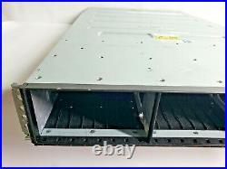 IBM 2076-624 Storwize V7000 Gen 2 Enclosure 2x Barebone Controllers READ