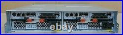 IBM DS3524 SAS Storage Array 1746A4D 24x 2.5 SAS Bays 2x I/F-6 Controller 2x PS