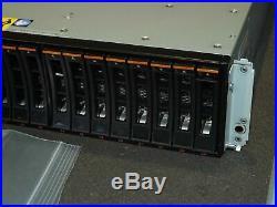 IBM EXP24S 5887 HRN Gen2 SFF SAS Hard Drive Storage Array with 24x 283GB 15K Rails