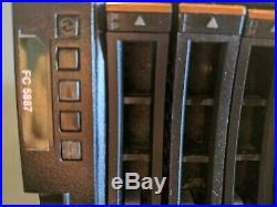 IBM EXP24S 5887 HRN SFF SAS Hard Drive Storage Array withTrays+Blanks