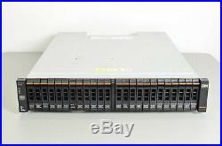 IBM Storewize V7000 24-Bay Storage Array with 24x 600GB 10K SAS Drives