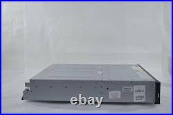 IBM v3700 2072-24C NO HDD 2x 00Y2527 Storwize Expansion Controller