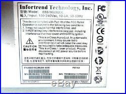 Infortrend Eonstor ESS16G2B2D0-0030 ESDS S16E-R2142 6GBps-SAS NAS Storage Array