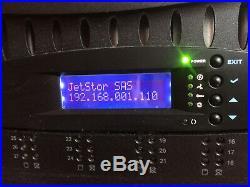 Jetstor Model 642F V2 SAS RAID Network Storage Array NAS 42 Bay 84TB Capacity