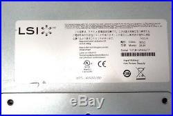 Lsi Netapp 2600 E2612 De1600 Duplex 3.5 Sas 12-bay Expansion Storage Array 0834