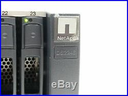 NETAPP DS2246 NAJ-1001 24-BAY STORAGE ARRAY with24900GB X423A-R5 SAS HDD 2IOM6