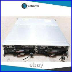 NETAPP DS2246 STORAGE SHELF 2 x CONTROLLER 2 x PSU 24 x SFF DRIVE BAYS