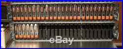 NICE Dell EMC VNX 20TB (25 x 900GB) 10K SAS Disk Array Storage Shelf DAE VNX5600