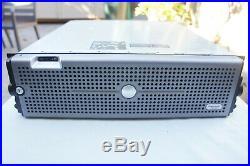 NICE! Dell PowerVault MD1000 SAS SATA Storage Array w 2x PSU 2x Controllers