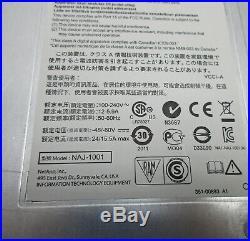 NetApp DS2246 Disk Array NAS Attached Storage 24x600GB SAS X422A Hitachi 2011