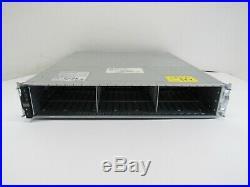 NetApp DS224C 116-00548 24 Bay 2.5 Storage Shelf Dual AC