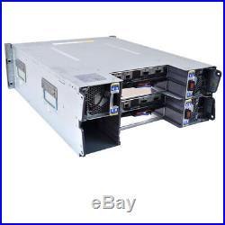 NetApp DS4243 NAJ-0801 Storage Shelf 430-00048+C0 2x IOM3 Controller 3x PS No HD