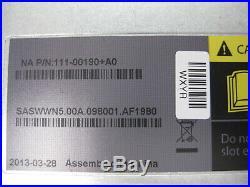 NetApp DS4246 Storage Array NAJ-0801 1x 111-00190 Controller 2x PSU, 24x 3TB HDD