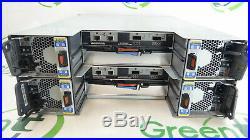 NetApp NAJ-0801 24-Bay 3.5 Storage Array 2x IOM3 CTRL 4x HB-PCM01-580-AC /Rails