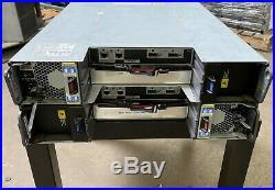 NetApp NAJ-0801 24-Bay 3.5 Storage Array with 2x Controller 2x PSU 24x HDD Tray