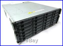 NetApp NAJ-0801 24 Bay Disk Shelf Storage Array 2.7TB (9x 300GB) SAS HDD
