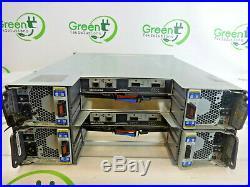 NetApp NAJ-0801 DS2243 24-Bay 3.5 Storage Array with 4x PSU 2x IOM3 Controllers