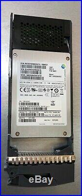 NetApp NAJ-1001 Rackmount Storage Drive Array with 24x 200GB SSD 2.5 SAS Drives