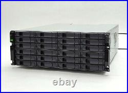 Netapp DS4243 NAJ-0801 LFF SAS 24-Bay 4U Storage Shelf Disk Array 2IOM3 2PSU