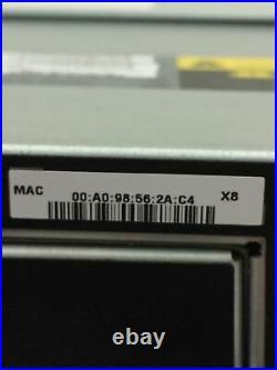Netapp Storage Array with NetApp SAS WWN (111-01287+C0)(111-00846+D5) Disk Array
