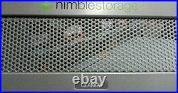 Nimble CS200 with 1 x 600gb SSD +15 X 3TB SAS 2 x Controllers 2 x power supplies