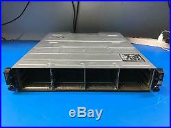 PowerVault MD1200 SAS Storage Array with 2x Controller 2x Power Supply