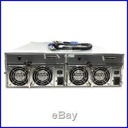 Promise VTrak J630s 48TB JBOD Storage Array Expander 16x 3TB SAS-2 Hard Drive
