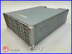 Sun Oracle Storage Array DE2-24C 2x IO Modules, 24x 8TB HDDs, 2x PSUs, Rack Kit
