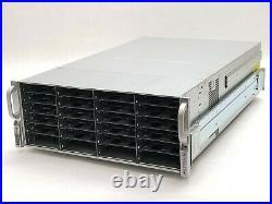 Supermicro CSE-847 3.5 45-Bay 4U Storage Array +BPN-SAS2-847EL1 BPN-SAS2-846EL1