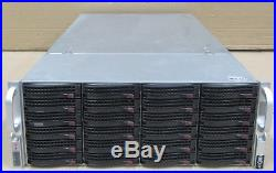 Supermicro SuperChassis CSE-846 JBOD 92TB SATA/SAS Bays Storage Array
