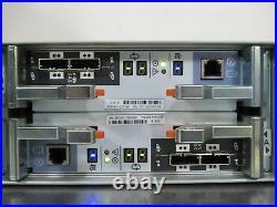 T171927 EMC SAE Disk Storage Array with 25x 600GB SAS Drives, 2x Power, 2x Control
