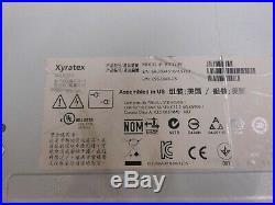 Xyratex HB-1235 0952848-05 12-Bay SAS Storage Array 0HD and 2x PSU