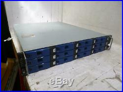Xyratex RS-1220-X 12 Bay SAS Storage Array with both controllers QTY&